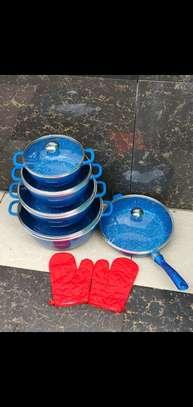 Dessini coloured granite cookware set image 1
