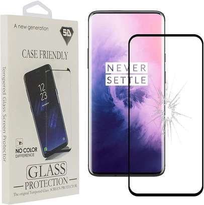 5d Glass Protector For One Plus 7/7 Pro image 2