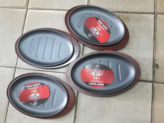 1pc Sizzling plate/1pc sizzler plate/hot plate image 4