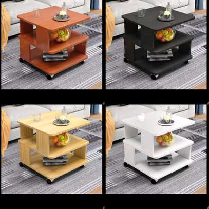 Modern wooden coffee table image 1