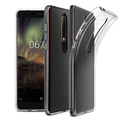 Clear TPU Soft Transparent case for Nokia 6/6 2018 image 4