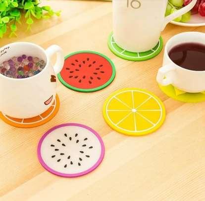 6pcs Silicone Coasters image 1