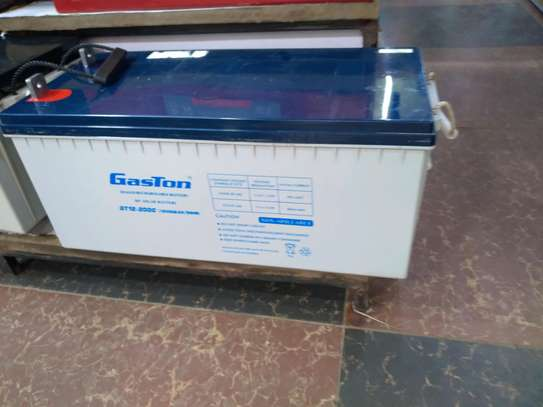 Gaston battery 200a/h image 1