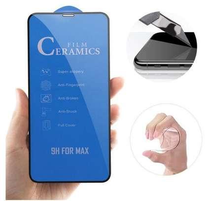 Ceramic 5D Full Glue Glass Protector Flexible Anti-Break,Anti-Fingerprint for iPhone X  XS image 3