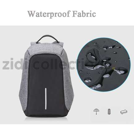 Bobby Design Anti-theft High Quality Laptop Backpack – USB Charging image 8