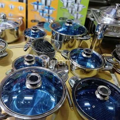 Stainless steel cookware image 1
