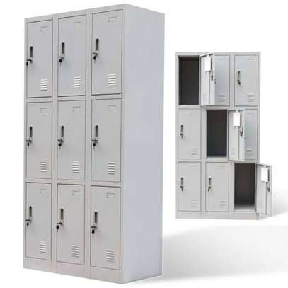 Two door filling cabinets image 4