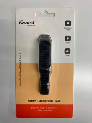 Porodo iGuard Mi Band 3/4 & 5 Nylon Protective Case and Nylon Strap image 1