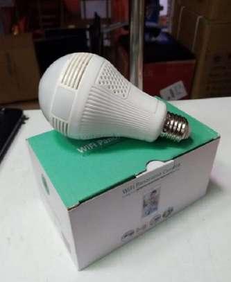 Bulb WiFi CCTV Nanny Camera 360 Degree 1080P image 1