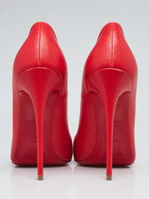 Red Christian Louboutin size 42