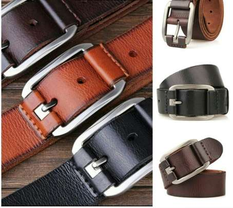 Men leather belt image 1