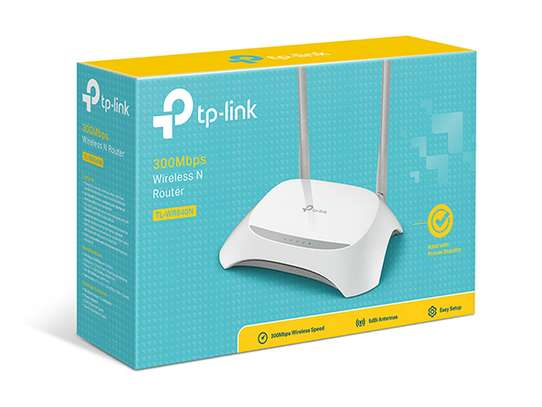 TP-LINK TL-WR840N 300Mbps Wireless N Router image 1