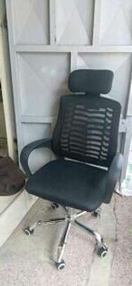 Spacious office chair image 1
