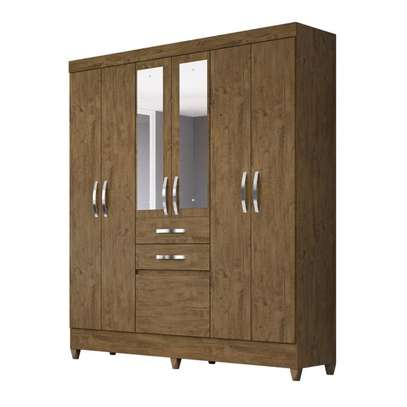 Wardrobe with 6 Doors & 2 Drawers - Moval , Mafra image 1