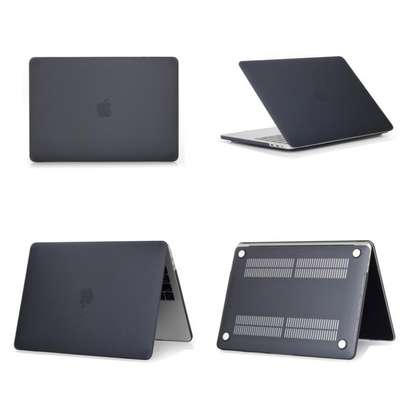 """Macbook Pro 13"""" Matte Black Case Cover With Screen Protector image 3"""