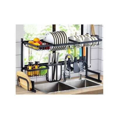 Over The Sink Dish Rack. image 1