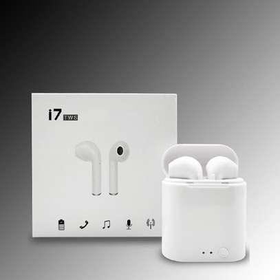 Wireless I7 I7s Twins Tws Bluetooth Earpods image 1
