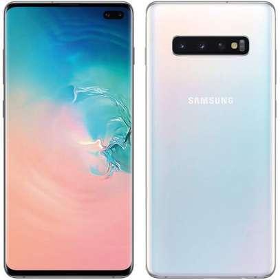"Galaxy S10+, 6.4"", 128GB + 8GB (Single Sim) , Prism White image 1"