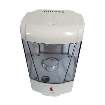 Milano 600Ml Wall Mounted Automatic Touchless Sanitizer Dispenser image 1