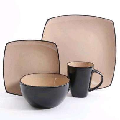 24-pieces ceramic dinner set image 2