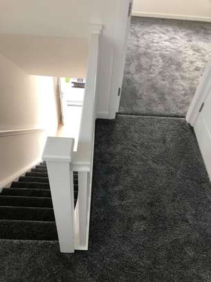 Charcoal grey wall to wall carpets image 11