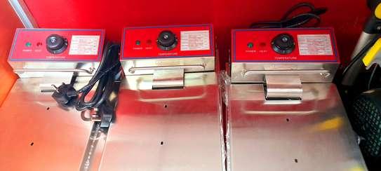 automatic potato chips machine/ frier double image 1