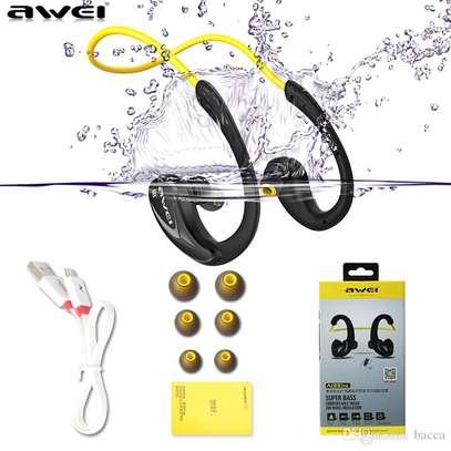 Awei A880BL Wireless Bluetooth V4.0 Headphones Sports Stereo Earphones image 4