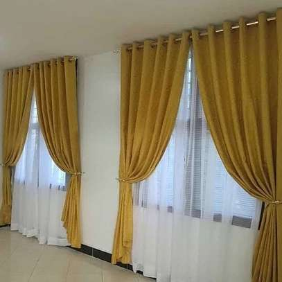 HIGH QUALITY PLAINS CURTAINS  AND SHEERS DIFFERENT COLOUR PER METER FROM 850 TO 1000 image 11