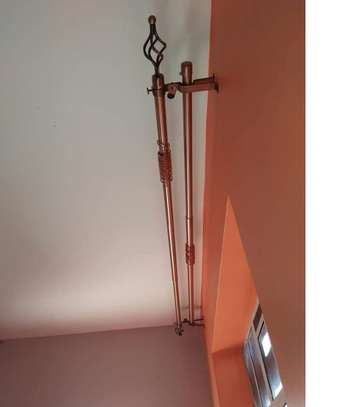 Flower-ended- curtain rods image 3