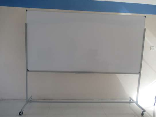 Portable one sided whiteboards 8*4ft image 1