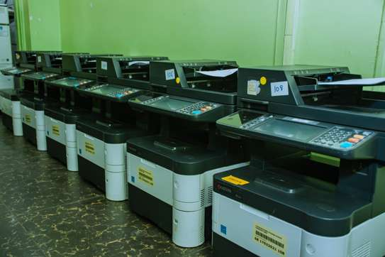 New Series New Arrival Kyocera Ecosys M3540idn Photocopier image 1