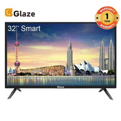 GLAZE 32 SMART Television LED TV black image 1