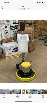 Brand new floor Scrubber machine image 1