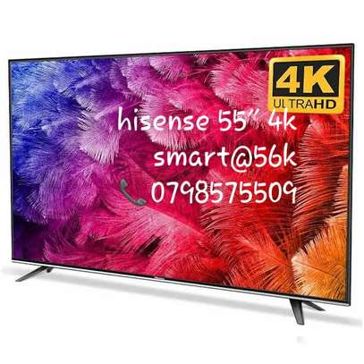 Brand new hisense 55 smart led 4k uhd available in my shop