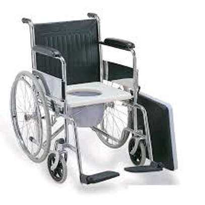 Standard Commode wheelchair image 1