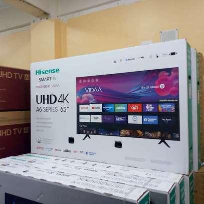 65  inch hisense frameless UHD 4k tv image 1