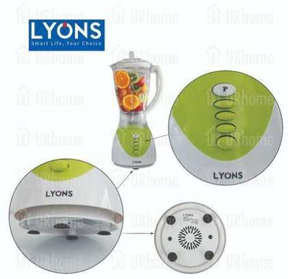Lyons Blender 2 In 1 With Additional Grinder Machine 1.5L -FY-1731 image 3