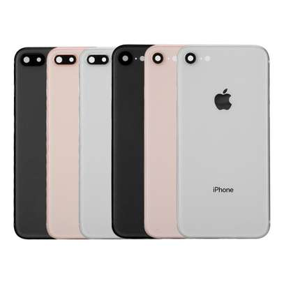 Battery Cover Replacement Back Door Housing Case For iPhone 8 8 Plus image 4