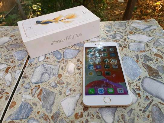 Apple Iphone 6s Plus 128 gb Ios 13 powered image 4
