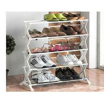 5 Tier Shoe Rack Ksh 1595/- ✓ Holds Up to 15pairs of Shoe image 1