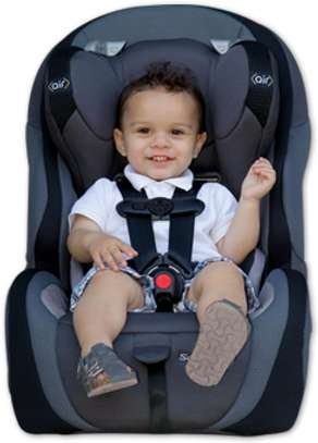 Car seats for kids available for hire