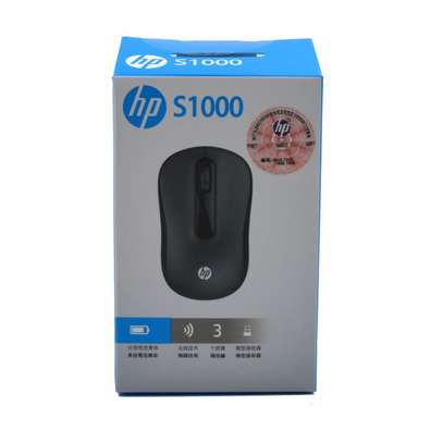 HP S1000 Plus Silent USB Wireless Computer Mute Mouse 1600DPI USB Receiver Mice image 2