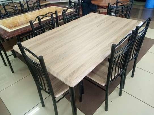 6setaer Wooden Dining Table image 1