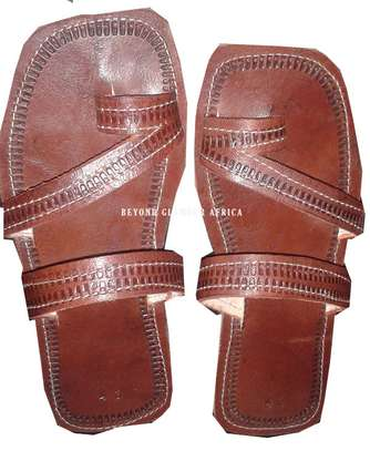 Male Leather Sandals