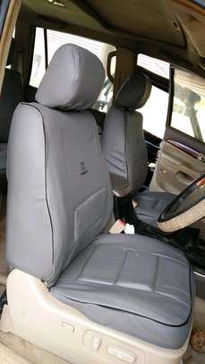 GREY CAR SEAT COVERS image 6