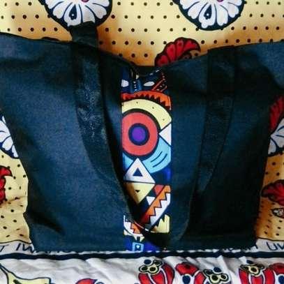 QUALITY BAGS WITH KITENGE(ANKARA) DESIGN image 5