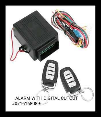 Digital car alarm