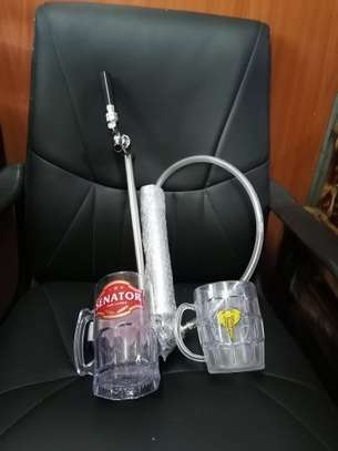Brand new keg pumps with a warranty card image 1