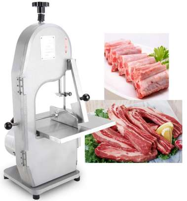 Electric Meat Bone Cutter Steak Meat Saw with Ce image 1