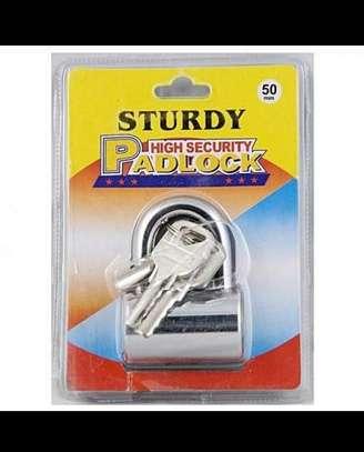Sturdy top security Padlock image 1